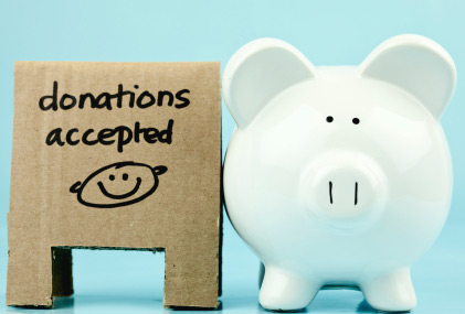 Giving to charity donating money or donating time gen x finance