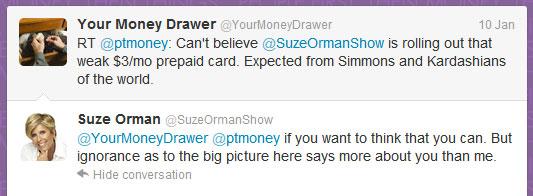 suze orman twitter