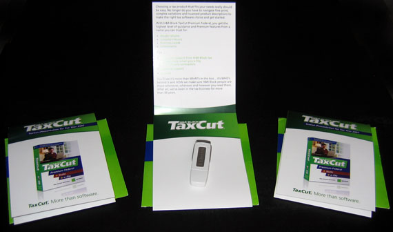 TaxCut 1 GB USB Flash Drive Giveaway