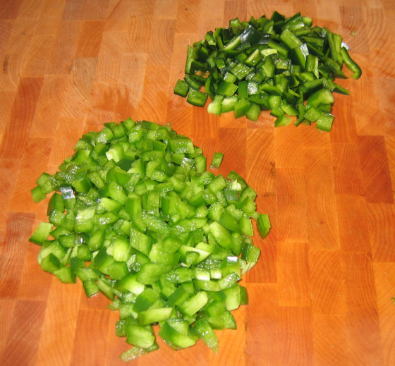 Peppers for Chili