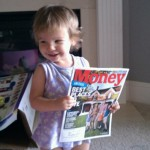 Daddy, will you read the article on Europe's debt woes to me?
