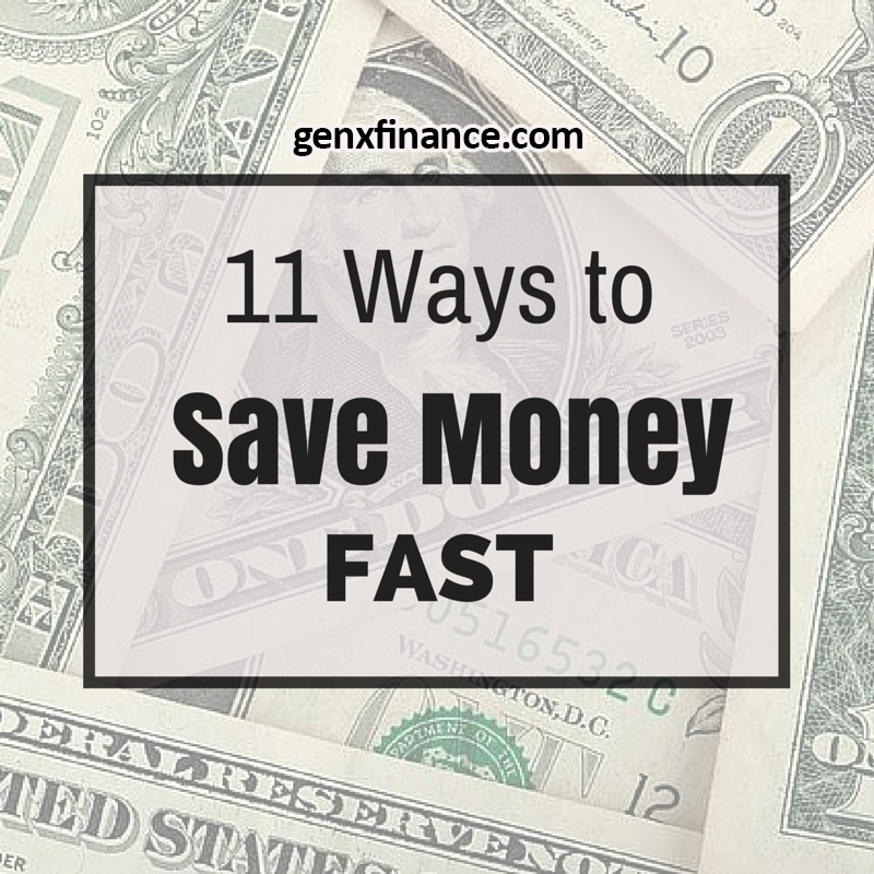 11 ways to save money fast
