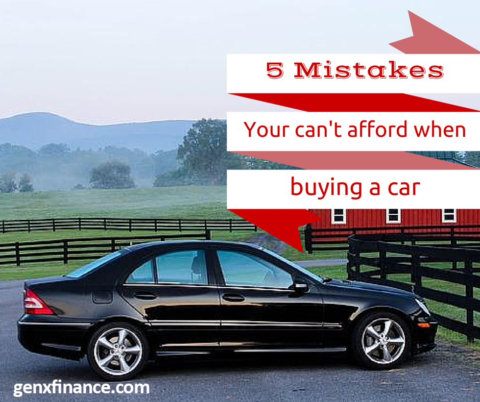 You Need To Avoid When Re Ing A Car Just One Relatively Minor Mistake Can Cost Thousands And Put Your Other Financial Goals In Jeopardy