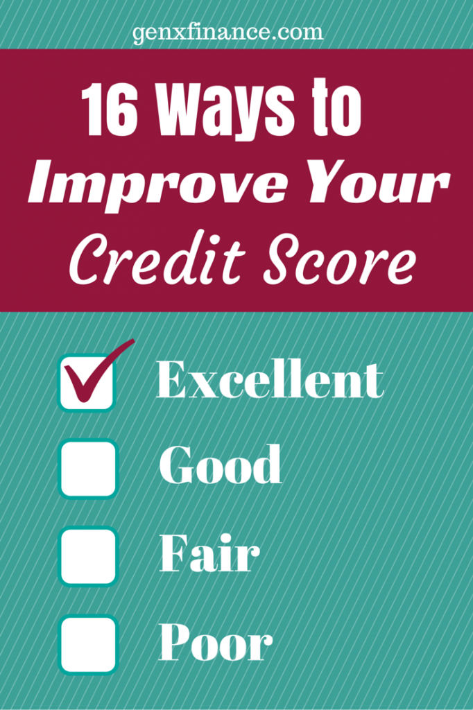 16 ways to improve your credit score