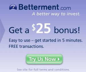 Betterment Bonus