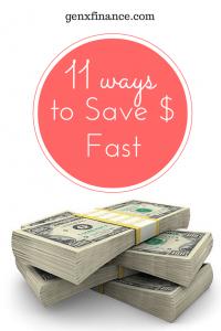 11 ways to save money fast